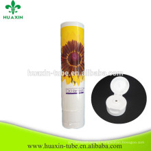 Plastic Whitening Cream Hand Cream Pipe With Flip Top Cap